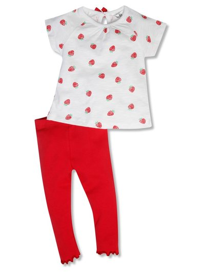 Strawberry top and legging set (9mths-5yrs)
