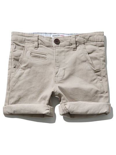 Minoti chino shorts (9 mths - 8 yrs)