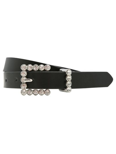 Diamante buckle belt