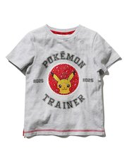 Pokemon two way sequin t-shirt