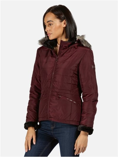 Westlynn Insulated Quilted Hooded Walking Jacket