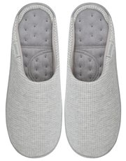 Isotoner waffle pillowstep mule slippers