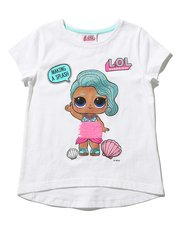 Lol Surprise two way sequin mermaid top (5 - 9 yrs)