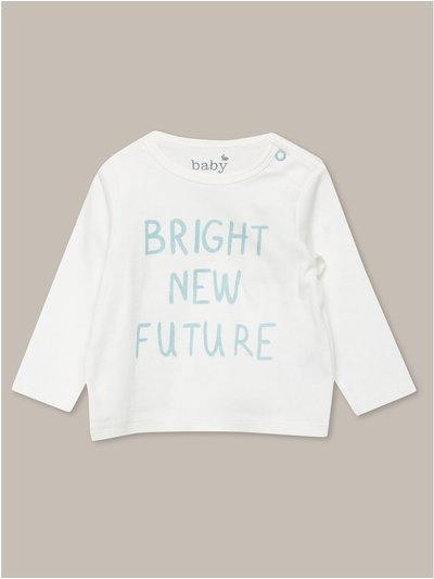 Bright new future top (tiny baby-18mths)