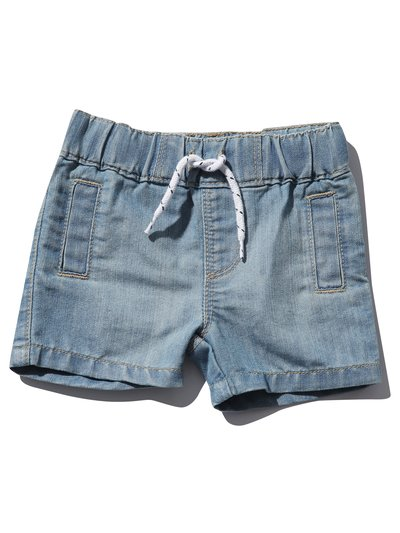 Denim jersey shorts (0mths-4yrs)