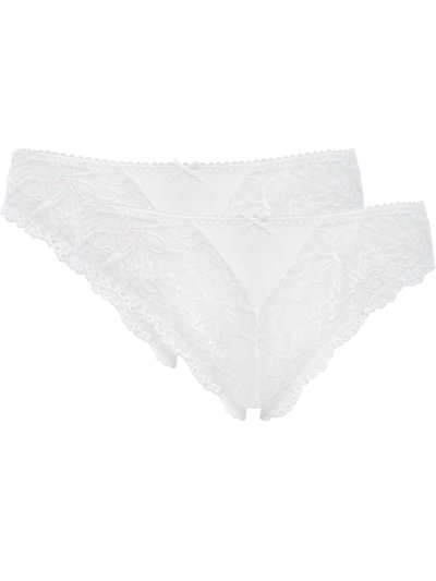 Lace thongs two pack