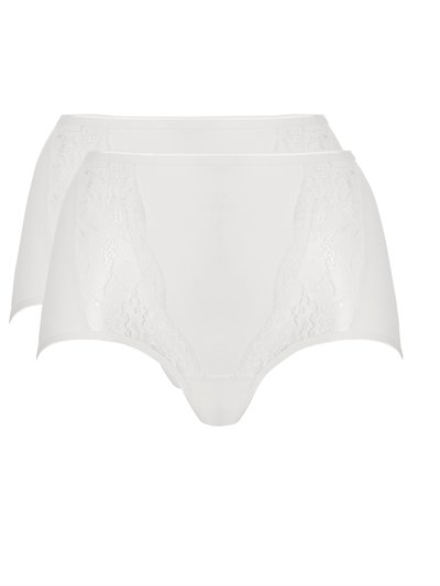 Ten Cate lace insert maxi brief 2 pack