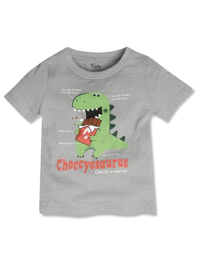 Choccy-o-saurus t-shirt (9mths-5yrs)