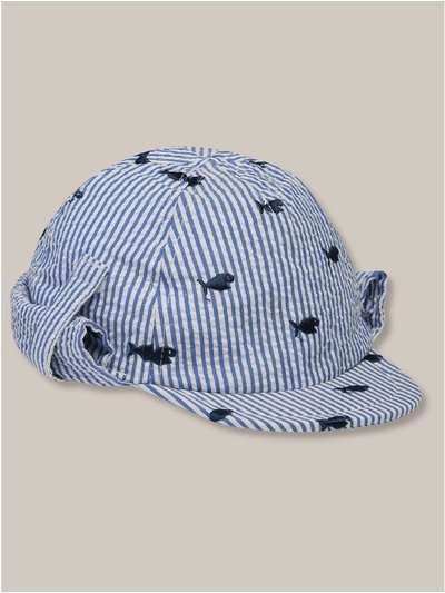 Shark kepi cap (0-24mths)