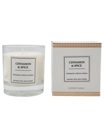 Scented Candle Cinnamon and Spice
