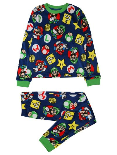 Fleece Super Mario pyjamas (5-12yrs)