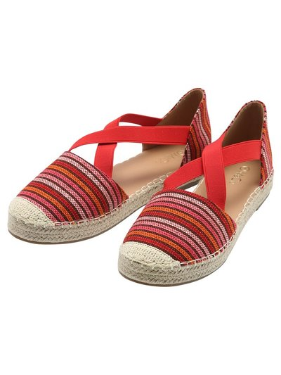 Fashion elastic thick espadrille