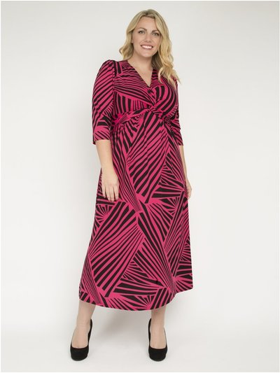 J by Jolie Moi twist front maxi dress