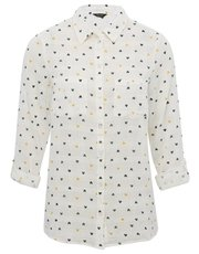 Spirit heart print shirt