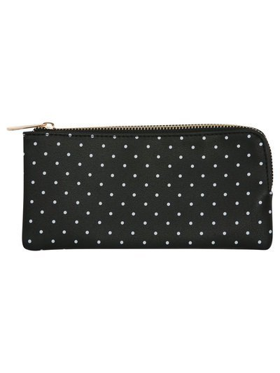 Polka dot wallet purse