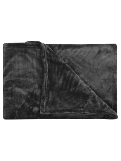 Large fleece throw