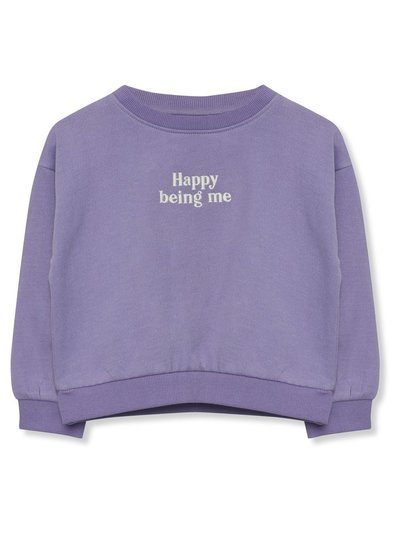 Happy slogan sweatshirt (9mths-5yrs)