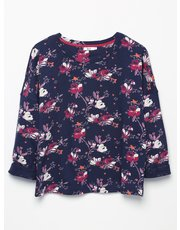 Khost Clothing floral sweatshirt