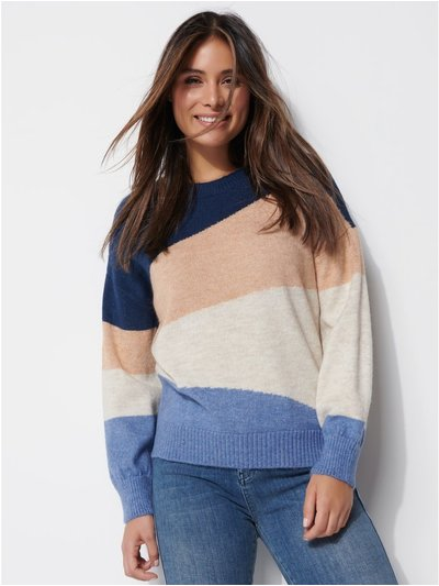 Khost Clothing colourblock jumper