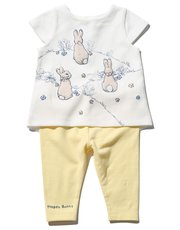Peter Rabbit Flopsy Bunny outfit set