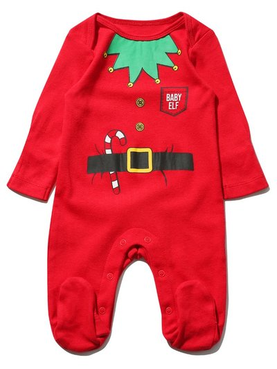 Baby elf sleepsuit (Tiny baby - 12 mths)