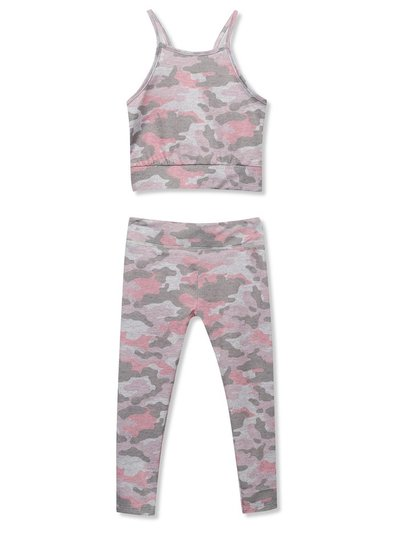 Camo print sports outfit (3-12yrs)