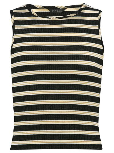 Teens' ribbed striped t-shirt