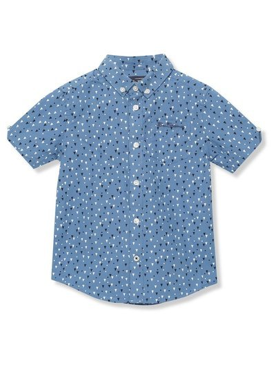 Ben Sherman geo print shirt (3 - 15 yrs)