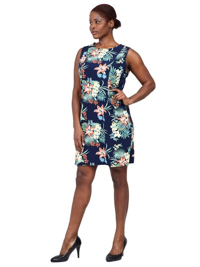 Izabel Curve tropical shift dress