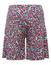 Maternity floral flared shorts