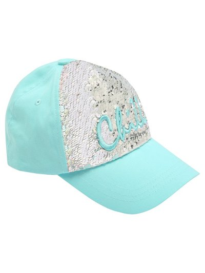 Teens' chill two way sequin cap