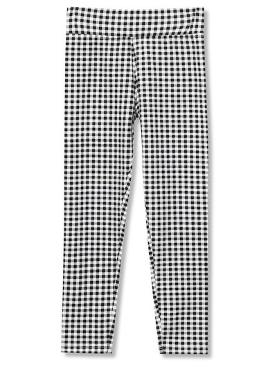 Gingham check leggings (3-12yrs)