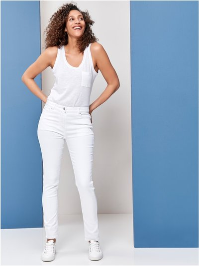 Super soft slim leg jean