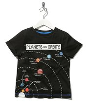 Science Museum planets and orbits print t-shirt