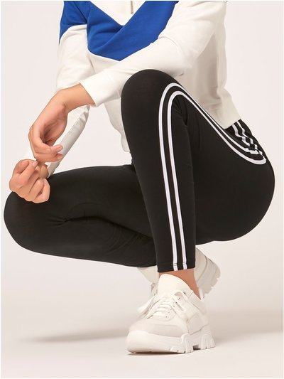 Teen side stripe leggings