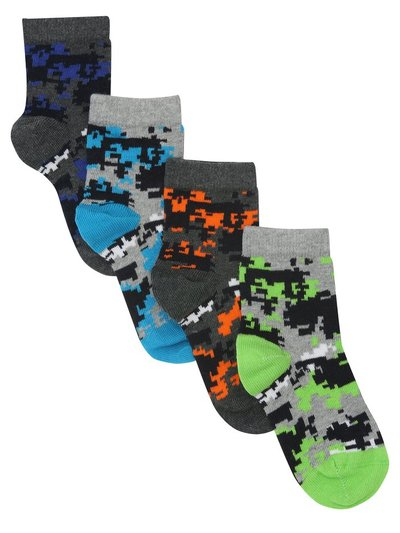 Camo socks four pack
