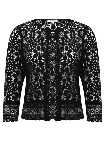 GLAMOUR crochet lace jacket