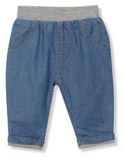 Denim joggers (Newborn-18mths)