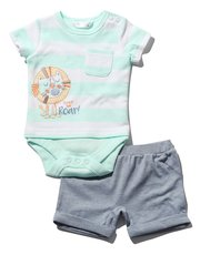 Tiger bodysuit and shorts set