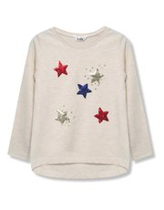Sequin star t-shirt (9 mnths - 5 yrs)