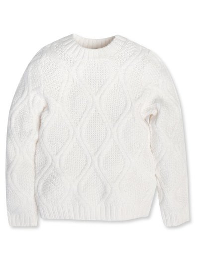 Cable knit jumper (3-12yrs)