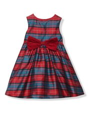 Tartan prom dress (9mths-5yrs)