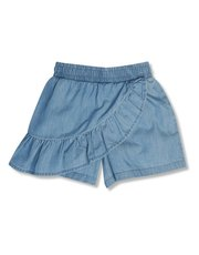 Frill tencel shorts (3-12yrs)
