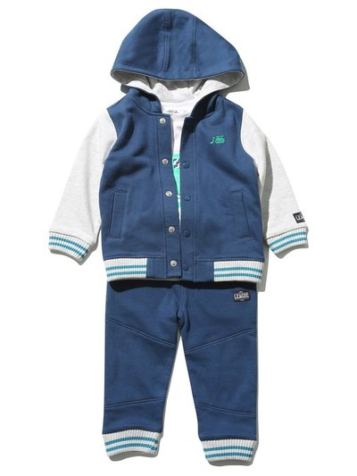 Digger top joggers and jacket set (9 mths - 5 yrs)
