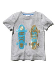 Skater two way sequin t-shirt (3 - 10 yrs)