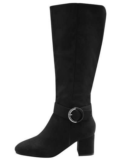 Liberta high leg boot with buckle