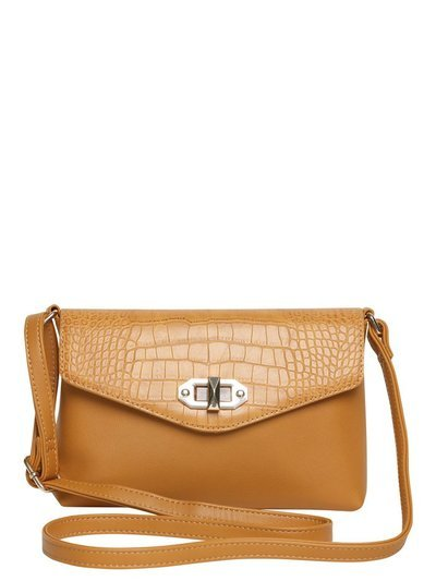 Twist Lock Cross Body Bag