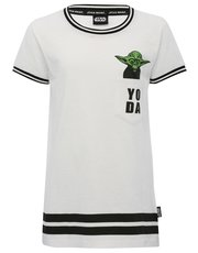 Star Wars Yoda print pocket t-shirt