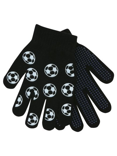 Glow in the dark football gloves two pack