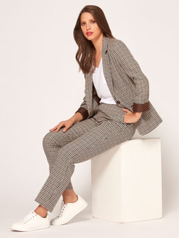 Heritage Check Suit